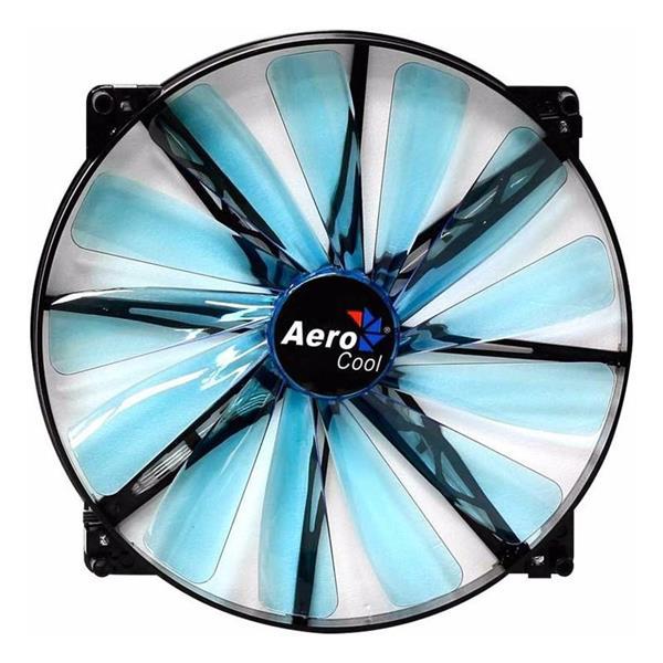 Fan Aerocool Lightning 200mm Blue LED