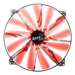 Fan Aerocool Lightning 200mm Red LED