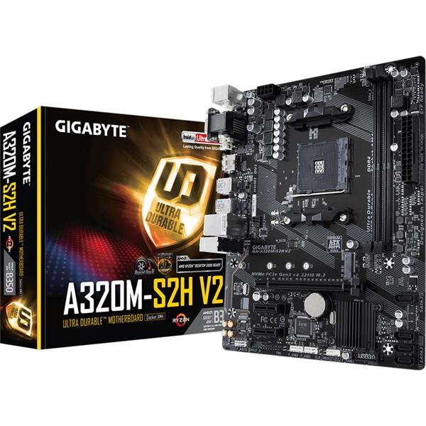 Mother Gigabyte (AM4+) A320M-S2H V2