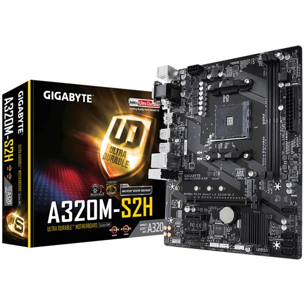 Mother Gigabyte (AM4+) A320M-S2H