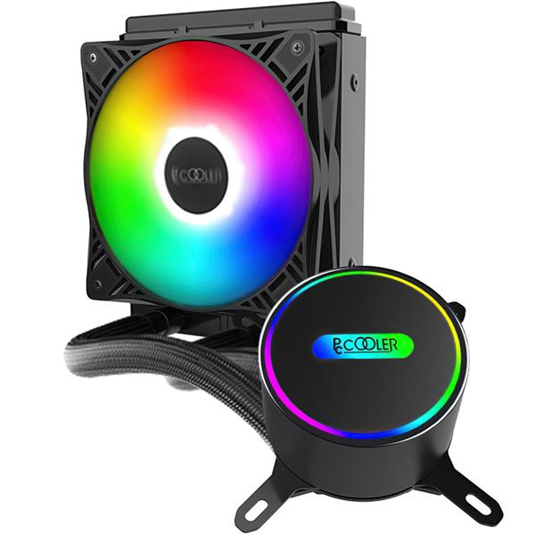 CPU Water Cooler Pccooler GI-CL120 VC Fixed RGB
