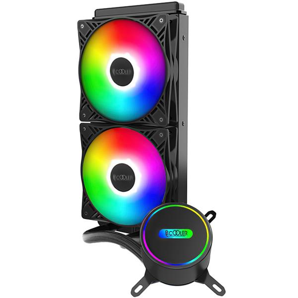 CPU Water Cooler Pccooler GI-CL240 VC Fixed RGB