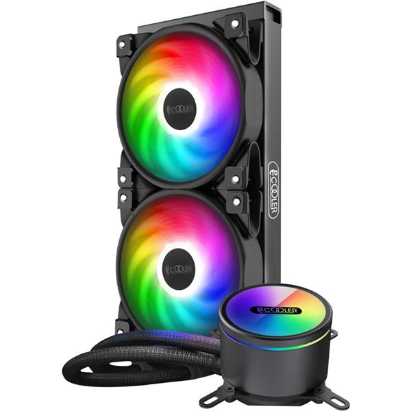 CPU Water Cooler Pccooler GI-CX240 ARGB