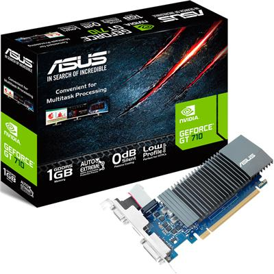 Placa de Video Asus GT 710 1Gb LP GDDR5