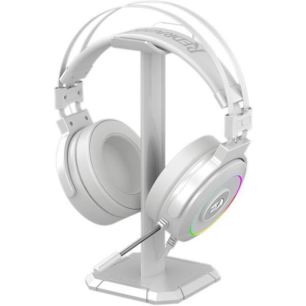 Auricular c/mic GAMER Redragon H320 LAMIA WHITE RGB