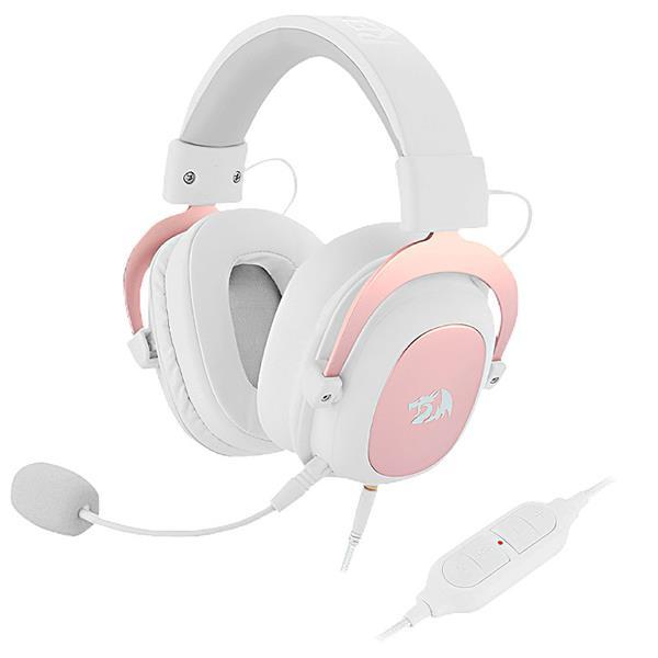 Auricular c/mic Redragon ZEUS 2 White H510W PS4 / PC
