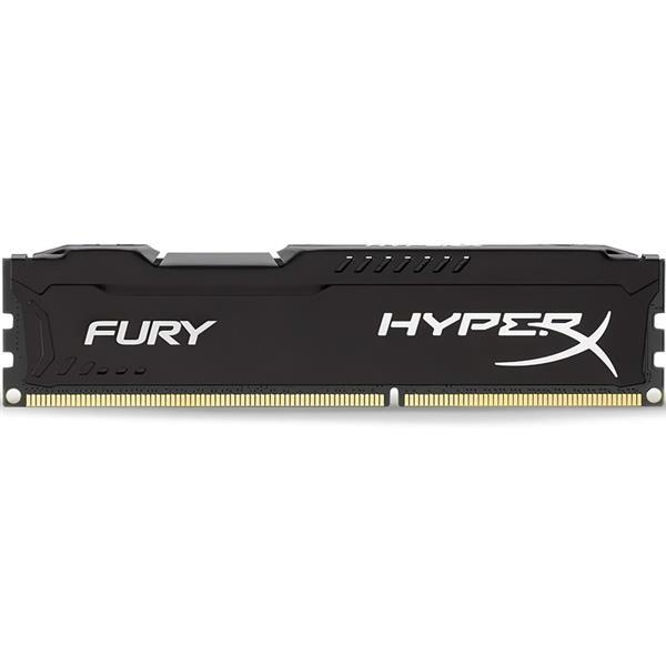 Memoria Ram 8Gb 1600 Mhz Ddr3 Kingston HyperX Fury Black