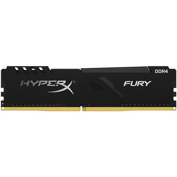 Memoria Ram Kingston HyperX Fury Black 8GB 2666 Mhz DDR4