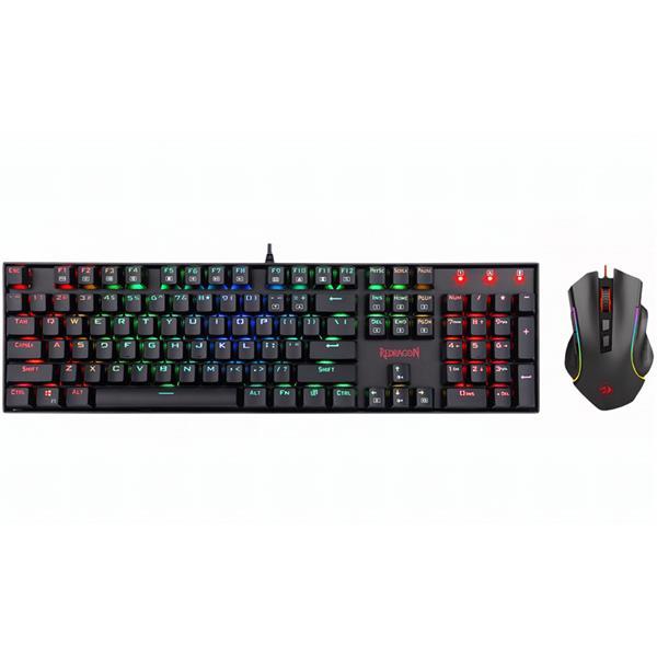 Combo Teclado y Mouse Redragon K551 RGB-BA