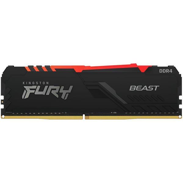 Memoria Ram Kingston Fury Beast RGB 8GB 3000 Mhz DDR4