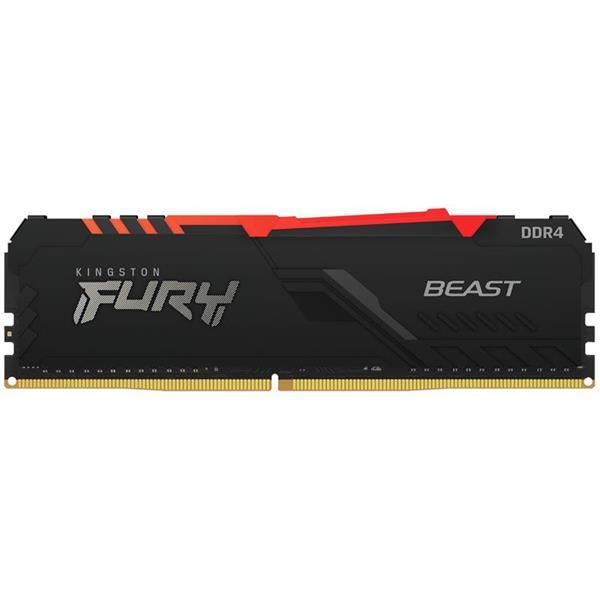 Memoria Ram Kingston Fury Beast RGB 8GB 3200 Mhz DDR4