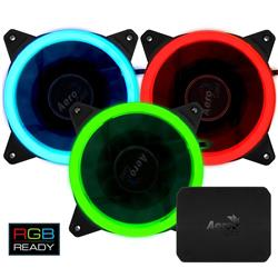 Fan Aerocool Rev RGB Pro 120mm Kit x3