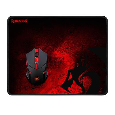 KIT Mouse Inalambrico Y Pad Gamer Redragon M601WL-BA