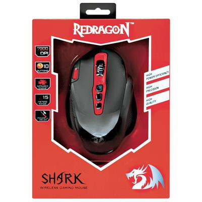 Mouse Redragon M688 Shark 2.4Ghz Inalambrico