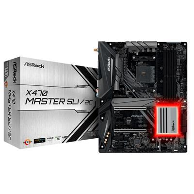 Mother Asrock (AM4+) X470 MASTER SLI/AC