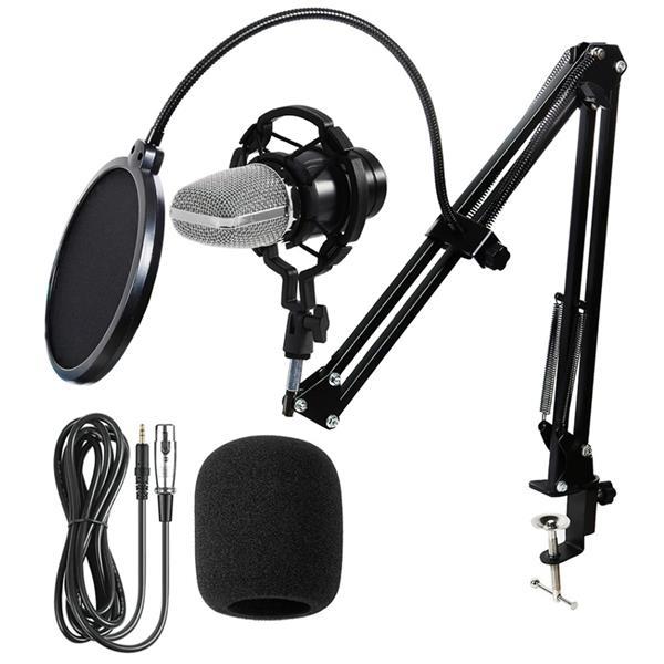 Microfono Condenser KIT Streaming