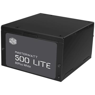 Fuente 500W CoolerMaster MWL 80 PLUS White