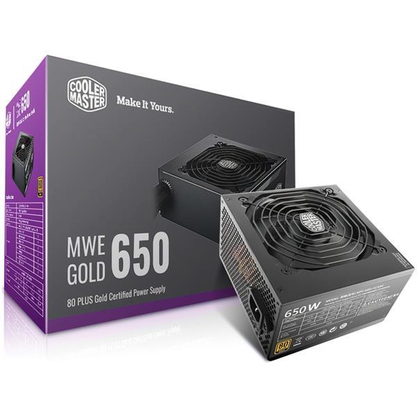 Fuente 650W Cooler Master MWE 80 PLUS Gold