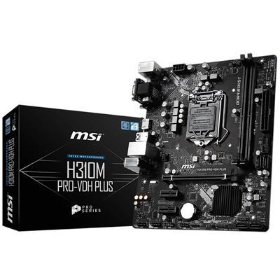 Mother Msi (1151) MSI H310M PRO-VDH PLUS