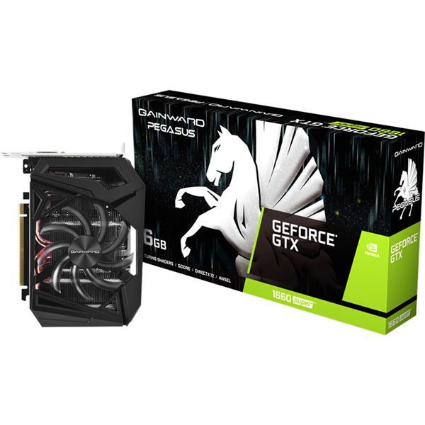 Placa de Video GAINWARD Nvidia Geforce GTX 1660 Super PEGASUS 6GB GDDR6