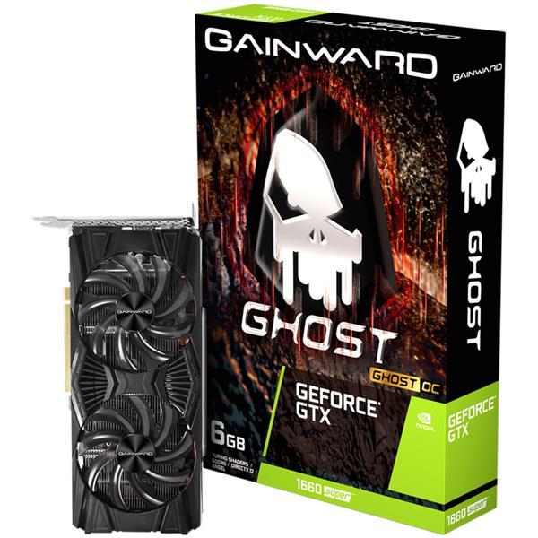 Placa de Video GAINWARD Nvidia Geforce GTX 1660 SUPER GHOST OC 6GB GDDR6
