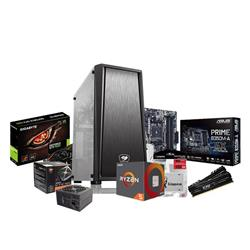 PC AMD Ryzen 2600 - B350 - 2x8GB - 500W - GTX 1060 6GB