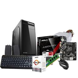 PC AMD Athlon 200GE - A320 - 1x4GB - KIT