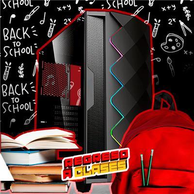 PC Escolar Media | AMD Ryzen 5 3400G - A320 - 8GB - 240GB SSD - 1TB