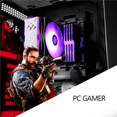 PC Armada | PC Gamer AMD Ryzen 5 2600X - B450 - 16GB - GTX 1660 S - 240GB SSD - 1TB HDD