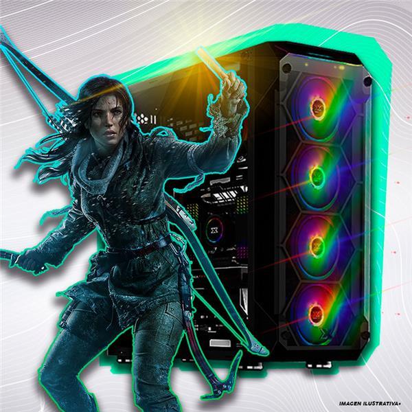 PC Armada | AMD Ryzen 5 2600 - B450 - 8GB - GTX 1660 Ti - 240GB SSD