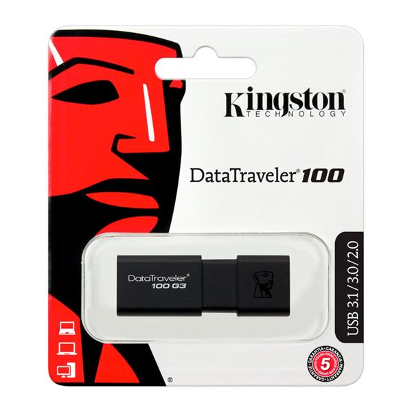 Pen Drive 64Gb Kingston DataTraveller 100 USB 3.0