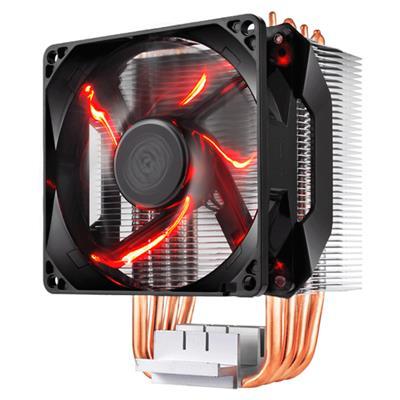 CPU Cooler Cooler Master H410R LED Red