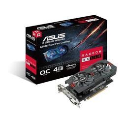 Vga Pci-E ASUS Rx560 4G DDR5 OC EVO