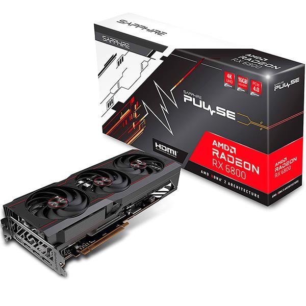 PLACA DE VIDEO AMD RADEON SAPPHIRE PULSE RX 6800 OC 16GB GDDR6
