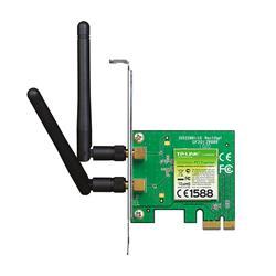 Placa de Red Wi Fi Tp-Link Pci-E TL-WN881ND 300Mbps