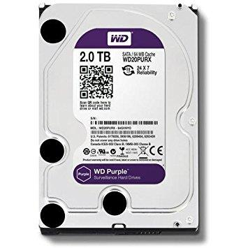 2Tb Western Digital Sata III Purple
