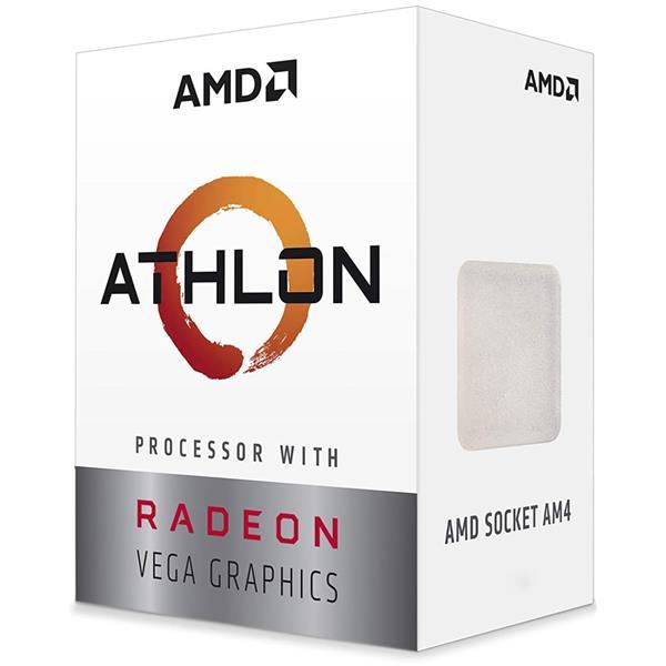 Micro AMD Athlon 3000G 3.5 Ghz AM4