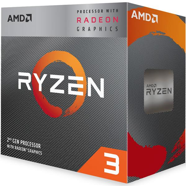 Micro AMD Ryzen 3 3200G 4.0 Ghz + RX Vega 8 AM4
