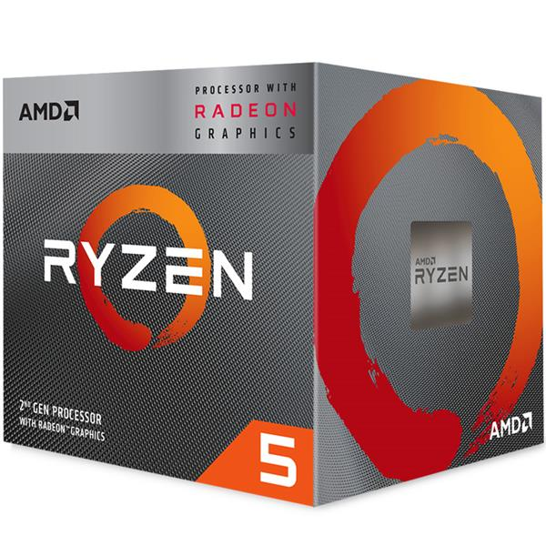 Micro AMD Ryzen 5 3400G 4.2 Ghz + RX Vega 11 AM4