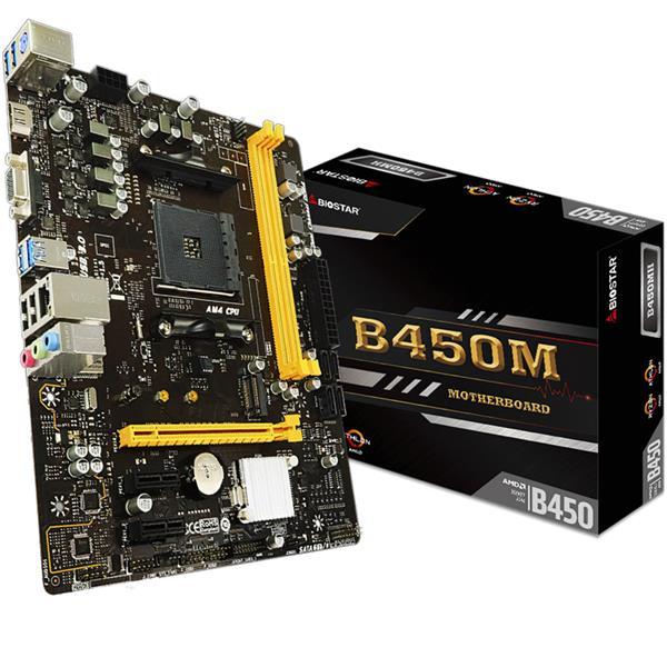 Motherboard Biostar B450M AM4